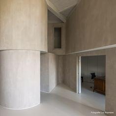 Stoopen&Meeûs Stuc Deco walls. Loft 104. Graux-Baeyens.