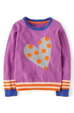Mini Boden Intarsia Crewneck Sweater (Toddler Girls, Little Girls & Big Girls) available at #Nordstrom