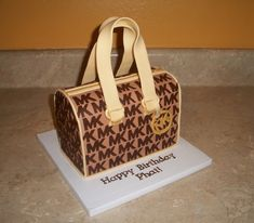 Michael Kors Purse Cake on Cake Central
