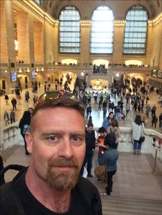 Grand Central Station. When you look up you can see a complete astrological representation painted on the ceiling. But what most people don't know is it's actually painted in reverse as if you were a God looking down on the stars and down on the earth.   Scott Goodknight