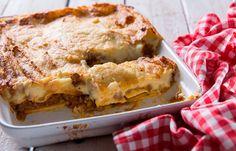 Λαζάνια με κιμά και κολοκύθι Lasagna, Cooking, Ethnic Recipes, Food, Kitchen, Kochen, Meals, Yemek, Brewing