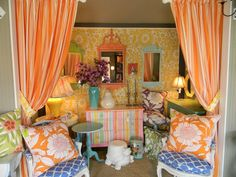 You will find this beautiful hand-painted furniture and such at http://www.VenetucciHome.com in Westbrook, CT