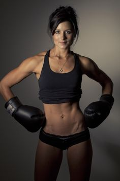 I think she's actually too lean, but it's motivation nonetheless