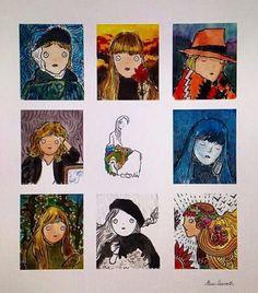 Alotta lil Joni's Art For Art Sake, Album Covers, Illustration, Music, Artist, Artwork, Movie Posters, Fictional Characters, Musica