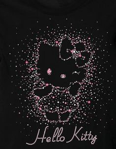 Black Pink Hello Kitty Wallpaper