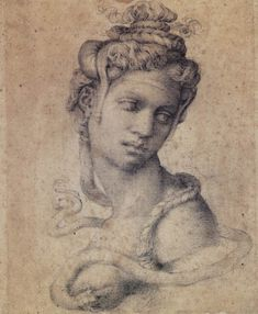Michelangelo, Cleopatra - Coming to the Muscarelle Museum of Art, at The College of William and Mary in Williamsburg Va from February 9th to April 14th