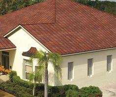 GAF Monaco Tile Dimensional Shingles on Roof