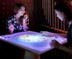 Restaurant Multi Touch Interactive Tables provide engaging platform for customers