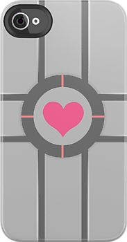 """""""Companion Cube iPhone Case"""" iPhone & iPod Cases by Tom Trager 
