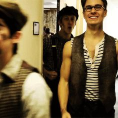 Ryan Steele and Newsies
