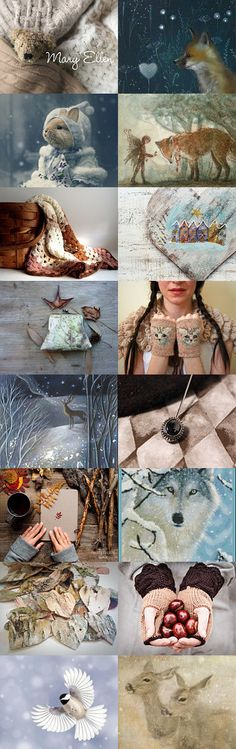 Bundle Up, It's Cold Out There by June Corst on Etsy--Pinned with TreasuryPin.com
