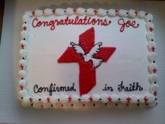 Confirmation cake