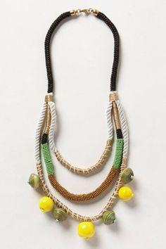 Jackfruit Layered Necklace - anthropologie.eu