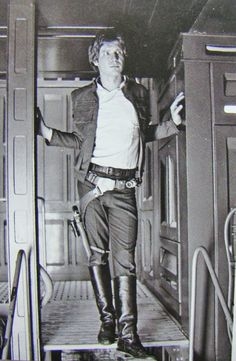 Han Solo.  Ah, the life of a Diy-photog-nerd.... :)