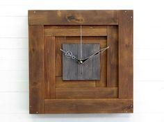 Praf XII pyramid wall wooden clock 3D wall clock silent
