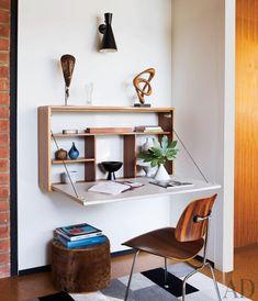 58 best folding desks images woodworking floating desk fold away rh pinterest com