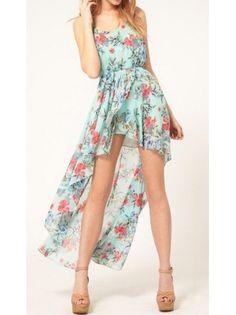Danty High Low Maxi Dress