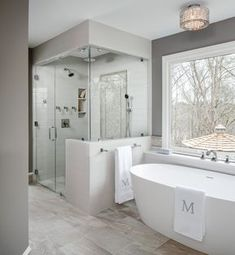 Tub To Shower Remodel, Diy Bathroom Remodel, Bathroom Renovations, Bathroom Ideas, Bathroom Mirrors, Houzz Bathroom, Bathroom Makeovers, Bathroom Lighting, Bathroom Modern