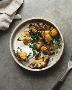 CURRY CAULIFLOWER //