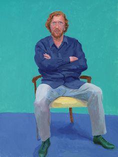 82 ritratti e 1 natura morta: dipinti: opere   David Hockney
