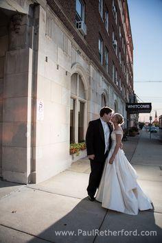 St. Joseph wedding photography ~ The Veranda at the Whitcomb wedding venue along Lake Michigan by Paul Retherford Wedding Photography #TheWhitcomb #TheVerandaatTheWhitcomb #StJosephMichigan