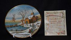 VENETO FLAIR CHRISTMAS PLATE 1978 TIZIAMO Christmas Plates, Tableware, Cards, Ebay, Decor, Dinnerware, Decoration, Dishes, Dekoration