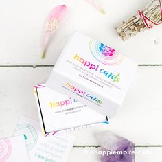 Happi Cards contain