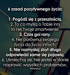 pozytywne cytaty - Szukaj w Google Daily Quotes, Me Quotes, Word Sentences, Psychology Facts, Cool Words, Texts, Self, Inspirational Quotes, Motivational