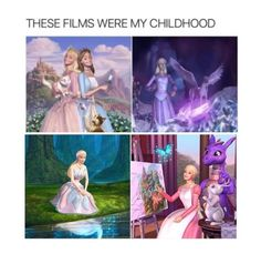 Princess And The Pauper was the best. now all the Barbie movies suck.>>> true all the the Barbie movies suck. Disney Marvel, Princess And The Pauper, Barbie Movies, Teen Posts, My Childhood Memories, Funny Relatable Memes, Funny Humour, The Villain, Princesas Disney