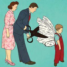 Hay que cortarles las alas desde chiquititos…Rutu Modan [facebook]https://www.facebook.com/rutu.modan.5