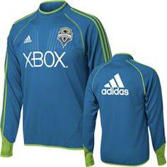Seattle Sounders adidas MLS Blue Long Sleeve Training Top $74.99 http://www.fansedge.com/Seattle-Sounders-adidas-MLS-Long-Sleeve-Training-Top-_1282086798_PD.html?social=pinterest_pfid66-52121