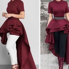 This Gorgeous symmetric top goes with everything and suitable for any occasion Indian Designer Outfits, Designer Dresses, Classy Outfits, Chic Outfits, Indian Gowns Dresses, Women's Dresses, Mode Hijab, Muslim Fashion, Ladies Dress Design