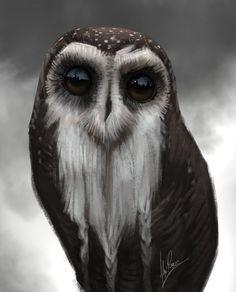 Owl Master by AlexRuizArt Pinned by www.myowlbarn.com