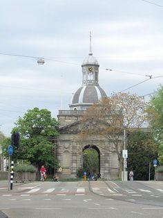 Muiderpoort hoek Sarphatistraat, Plantage middenlaan. Amsterdam