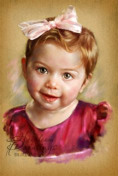ru Images 2008 j Pastel Portraits, Baby Portraits, Baby Drawing, Painting & Drawing, Pastel Art, Portrait Art, Amazing Art, Art For Kids, My Arts