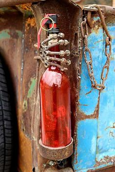 Rat rod tail lights. Also could be cool coolant overflow bottle idea