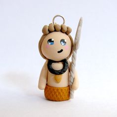Polymer Clay Mini Finnick Hunger Games by PolymerSisters on Etsy, $10.00