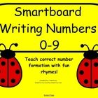 These rhymes will help your little ones learn and remember correct number formation. Ladybug dots help with number and quantity concepts. There is a slide for demonstrating correct formation and slides with lines for your students to practice writing the numbers with the pen tools. This would be great independent practice as a center or station.