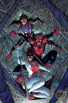 Marvel presenta a la nueva familia Spider-Man