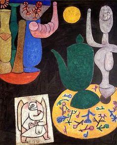 Last Still-Life (Angel of Death), 1940 by Paul Klee.