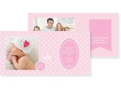 Punktvoll Einfachkarte 2-seitig 148x105mm rosa / pink, Babykarte, Geburtskarte, Taufkarte, Taufe, Baby, Karten, karten4you, karten4you.ch Frame, Pink, Home Decor, Phobias, Birth, Picture Frame, Decoration Home, Room Decor, Frames