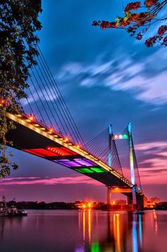 night bridge paint