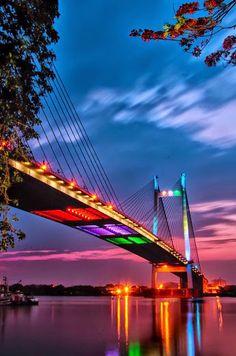 night bridge paint