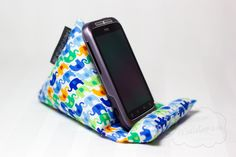 Beanbag for smartphone, pattern by creatING[dh]