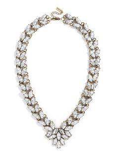 Garland Brooch Collar by: BaubleBar