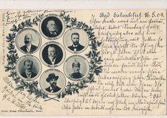 Salzschlirfer Honoratioren 1904