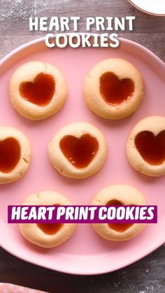 Cookie Desserts, Just Desserts, Cookie Recipes, Delicious Desserts, Dessert Recipes, Yummy Food, Tasty, Valentines Food, Valentine Cookies