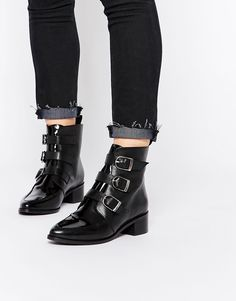ADDICTED TO YOU - Bottines en cuir