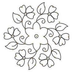 Image result for floral design stencil