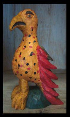 Bird Art, Main Street, Folk Art, Artisan, June, Carving, Birds, Traditional, Bird